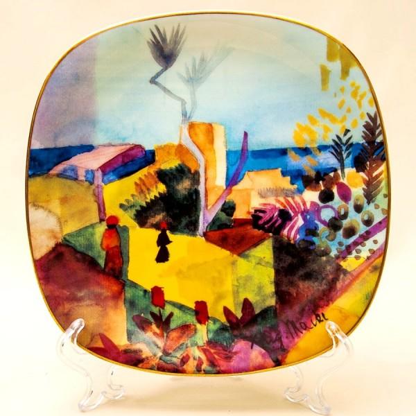 Коллекционная Тарелка «Вид на море» Фарфор, РОЗЕНТАЛЬ ROSENTHAL, Германия -1996 год.