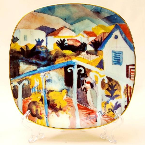Коллекционная Тарелка «Тунисский Сен Жермен» Фарфор, РОЗЕНТАЛЬ ROSENTHAL, Германия -1996 год.
