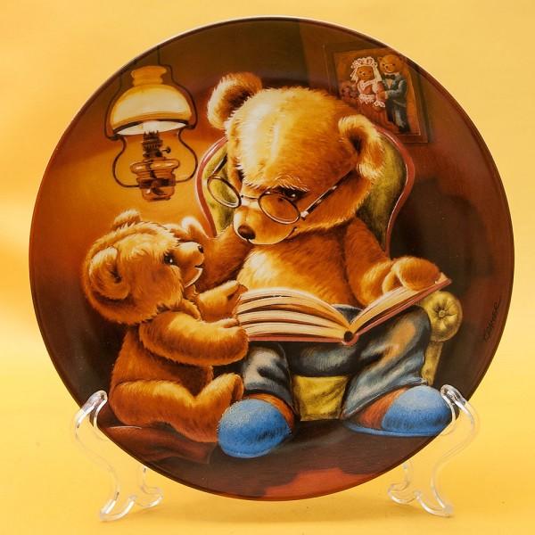 Коллекционная Тарелка - Блюдо «Мишка Тедди и его друзья» Фарфор, Bareuther, Германия -1992 год.