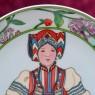 Коллекционная Тарелка «Дети Мира» - «Монголия» Фарфор Heinrich Villeriy&Boch - 1980 год.
