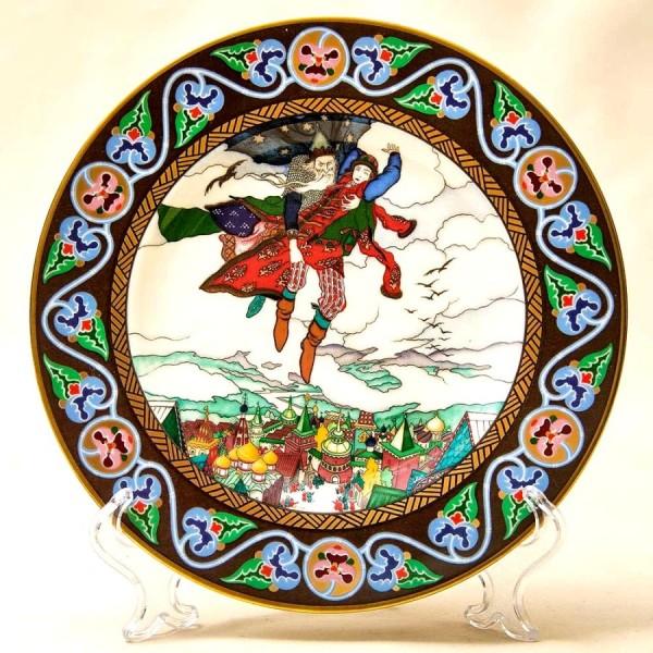 «Марья Моревна» - Коллекционная Тарелка «Русские Сказки»  Фарфор, Villeroy&Boch Германия -1990 год.