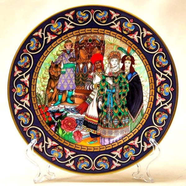 Коллекционная Тарелка «Русские Сказки» - «Жар-Птица» Фарфор, Villeroy&Boch Германия -1990 год.