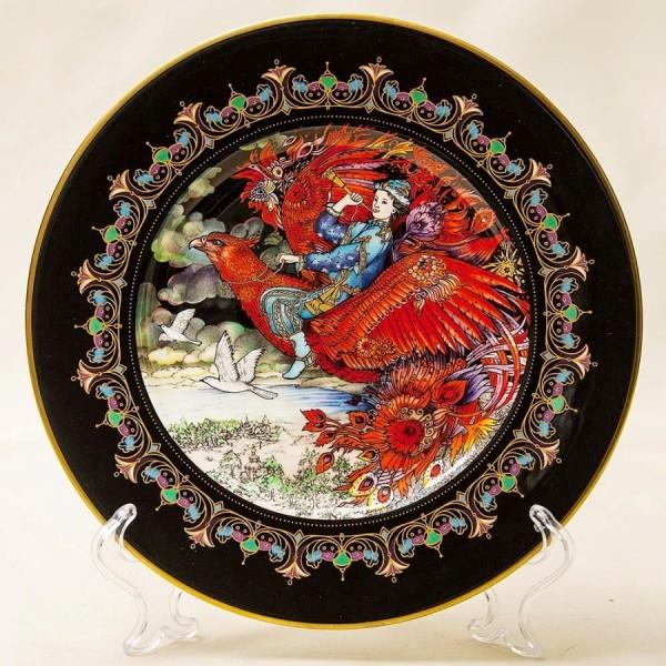«Жар-Птица» - Коллекционная Тарелка «Русские Сказки»  Фарфор, Villeroy&Boch Германия -1986 год.