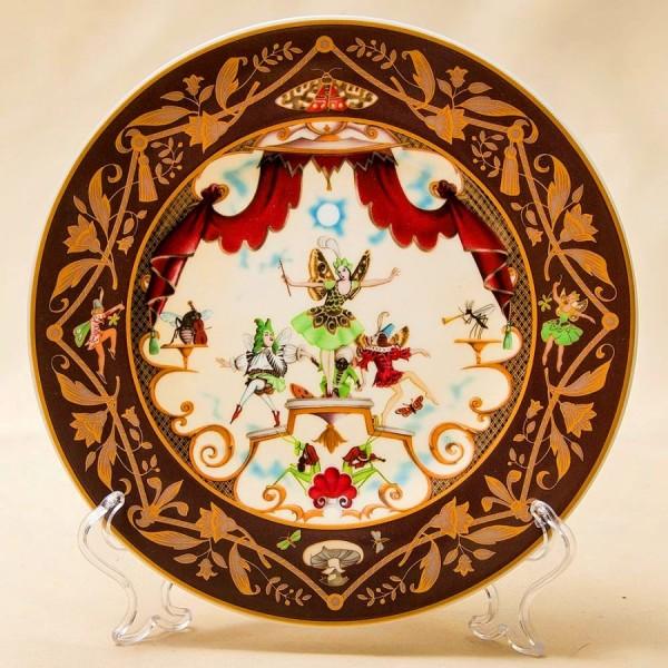 «Песня Эльфов» - Коллекционная Тарелка «Французские Сказки»  Фарфор, Villeroy&Boch Германия.