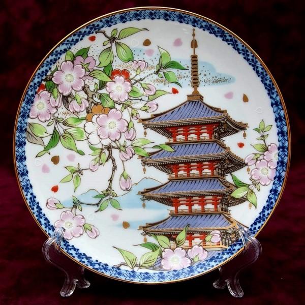Коллекционная Тарелка «ВЕСНА» из серии «Времена года» Фарфор NORITAKE, Япония, 1978 год.