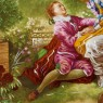 Коллекционная Тарелка «СВИДАНИЕ» Фарфор, Лимож (Limoges) Франция, середина ХХ века.