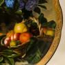 Коллекционная Тарелка «Букет гортензий и корзина фруктов» Фарфор Grande Copengagen Дания.