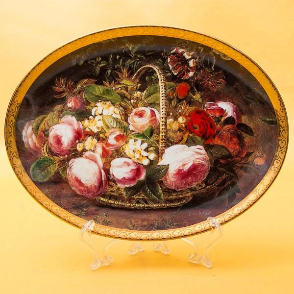 Коллекционная Тарелка «Любовное послание» Фарфор Grande Copengagen Дания -1998 год.