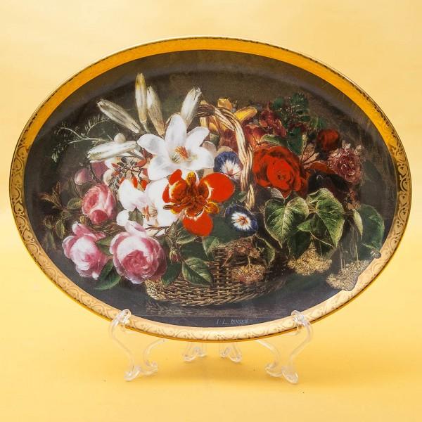 Коллекционная Тарелка «Знакомство» Фарфор Grande Copengagen Дания -1998 год.
