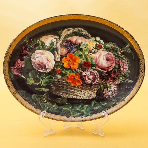 Коллекционная Тарелка «Благодарность» Фарфор Grande Copengagen Дания -1998 год.