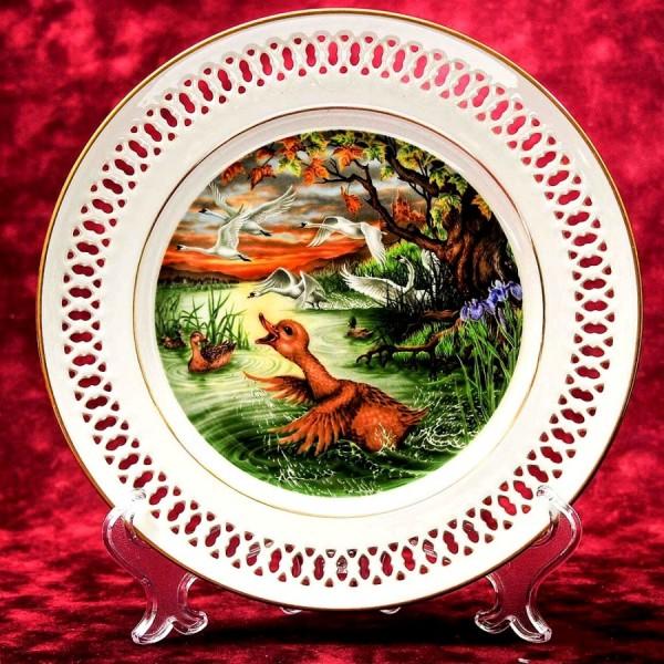 Коллекционная Тарелка «Сказки - Гадкий Утенок» Фарфор, B&G Copenhagen - Дания.
