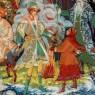 Коллекционная Тарелка «ДВЕНАДЦАТЬ МЕСЯЦЕВ» Фарфор - ЛФЗ, СССР -1993 год.