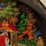 Коллекционная Тарелка «СКАЗКА О МЕРТВОЙ ЦАРЕВНЕ И СЕМИ БОГАТЫРЯХ» Фарфор - ЛФЗ, СССР -1988 год.