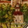 Коллекционная Тарелка «Троице - Сергиев Монастырь, ЗАГОРСК» Фарфор - ЛФЗ, СССР -1991 год.