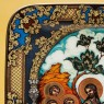 Коллекционная Тарелка «ВХОД ГОСПОДЕНЬ В ИЕРУСАЛИМ» Фарфор, ЛФЗ Россия -1998 год.