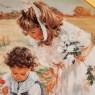 Коллекционная Тарелка «Восхитительная Корзинка» Фарфор RECO США -1992 год.
