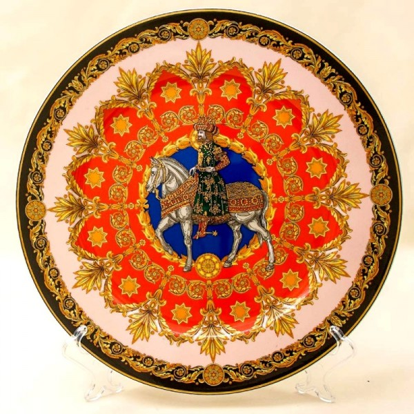 Коллекционная Тарелка - Блюдо «Король БАЛЬТАЗАР» Фарфор, VERSACE, Rosenthal Германия -1996 год.