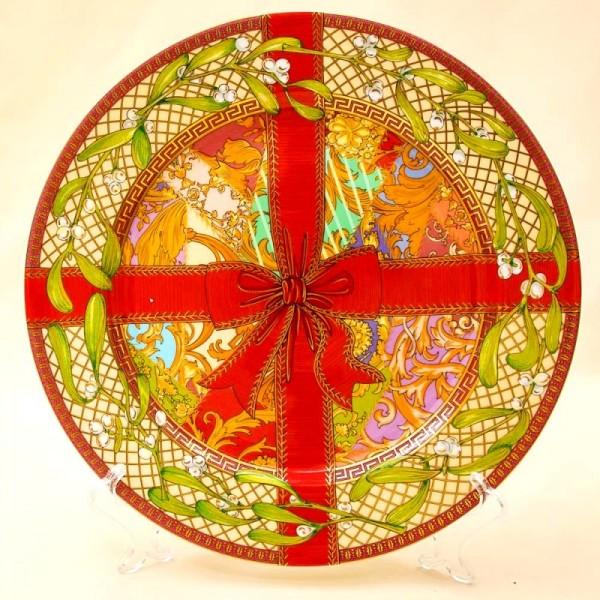 Коллекционная Тарелка - Блюдо «Рождественское Чудо» Фарфор, VERSACE, Rosenthal Германия -2003 год.