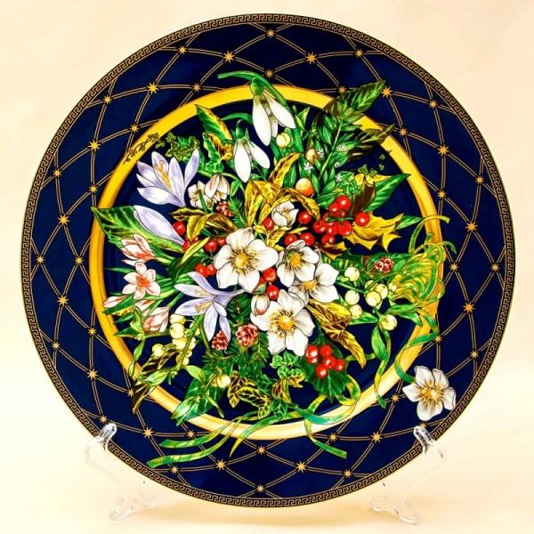 Коллекционная Тарелка - Блюдо «Впустите Любовь» Фарфор, VERSACE, Rosenthal Германия -2002 год.
