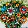 Коллекционная Тарелка - Блюдо «Весенние Цветы», Furstenberg, Германия 80-е гг.