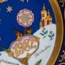 Коллекционная Тарелка - Блюдо «РОЖДЕСТВО -1982 год» Фарфор, Hutschenreuther, Германия.