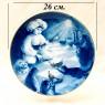 Коллекционная Тарелка - Блюдо «МАЛЕНЬКИЙ МУК» Фарфор, MEISSEN / МЕЙСЕН Германия -1986 год.