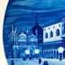Коллекционная Тарелка - Блюдо «Венеция» Фарфор, MEISSEN / МЕЙСЕН Германия -1976 год.