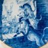 Коллекционная Тарелка - Блюдо «БРЕМЕНСКИЕ МУЗЫКАНТЫ» Фарфор, MEISSEN / МЕЙСЕН Германия -1991 год.