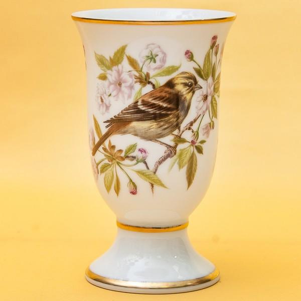 Винтажный Фарфоровый Бокал - Ваза «Певчие Птицы -VII» Франция -1981 год.