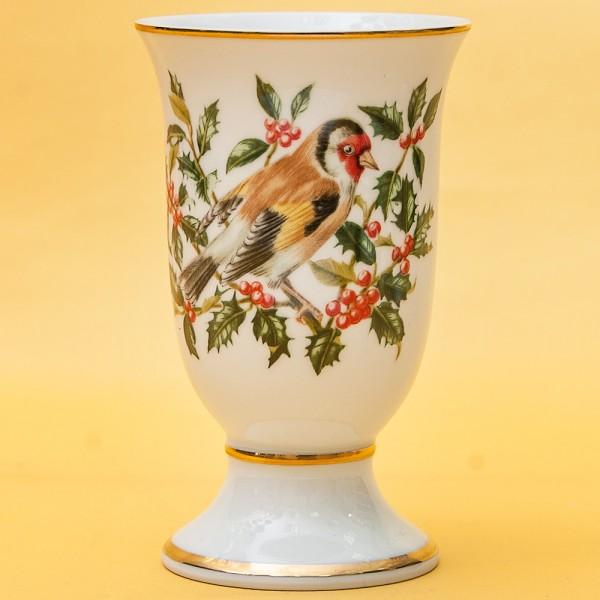 Винтажный Фарфоровый Бокал - Ваза «Певчие Птицы -VIII» Франция -1981 год.