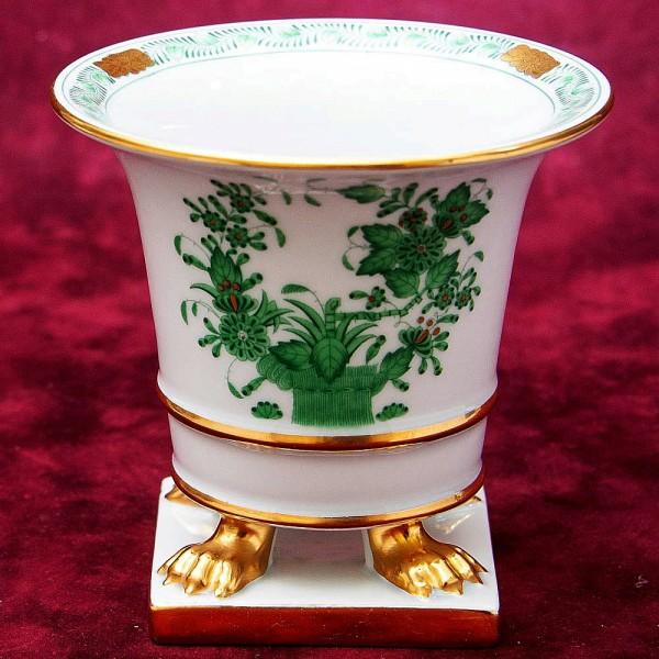 Миниатюрная Фарфоровая Ваза из коллекции APPONYI GREEN, HEREND, Венгрия.