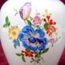 Фарфоровый Вазон или Ваза с крышкой «Цветочный Букет» Н -23 см., MEISSEN / МЕЙСЕН, Германия.