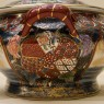 Декоративная Ваза - Шкатулка «Райская Птица» в технике Мориаж Фарфор Китай, Сацума SATSUMA - 60 гг.