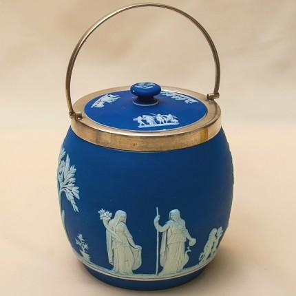«Античные Богини Олимпа» - Бисквитница - Сахарница - Баночка с крышкой, Фарфор Tunstall, Англия.