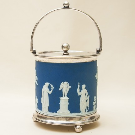 «Античный Олимп» - Бисквитница - Сахарница - Баночка с крышкой, Фарфор Tunstall, Англия.