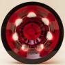 Классическая Ваза Рубинового Хрусталя WMF Crystal Cabinet Германия Н-28 см., конец 60-х гг.