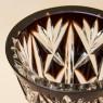Классическая Ваза Цветного Хрусталя WMF Crystal Cabinet Германия Н-24 см., конец 60-х гг.