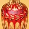 Классическая Ваза «ANTIKA» Цветного Хрусталя WMF Crystal Cabinet Германия Н-26 см., конец 50-х гг.