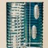 Коллекционная Ваза серия «Art Deko» Хрусталь JOSKA BODENMAIS Германия Н-32,5 см., конец 60-х гг.