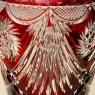 Большая!!! Хрустальный Ваза, Н-47,5см. Knittel FAKIRIS Силезия, Германия, конец 30-х годов ХХ века..
