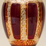 Коллекционная Ваза «Рубиновый Хрусталь» , ERNST WITTIG, Германия середина ХХ века.