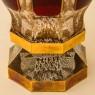 Коллекционная Ваза - Кубок «Рубиновый Хрусталь» , ERNST WITTIG, Германия середина ХХ века.