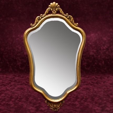 Винтажное Настенное Фигурное Зеркало Франция 72 см. х 43 см.