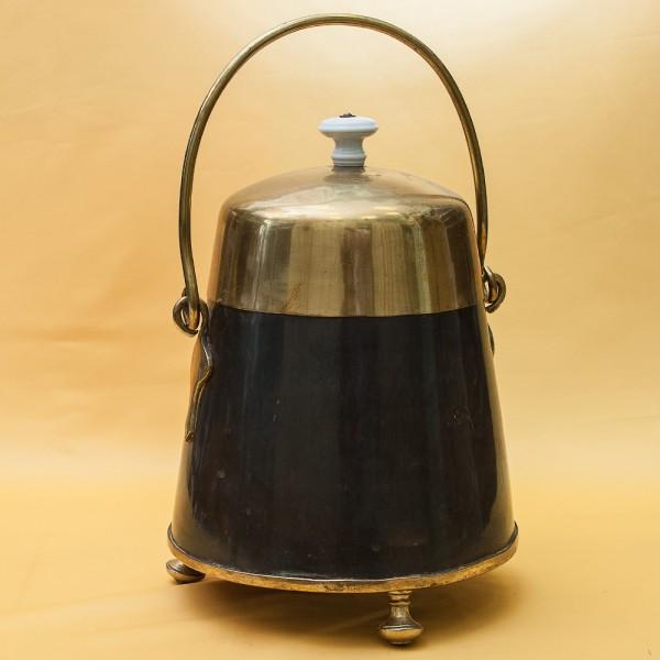 Редкость!!! Старинное Большое Медное Ведро для Угля - Зольник. Англия начало ХХ века.