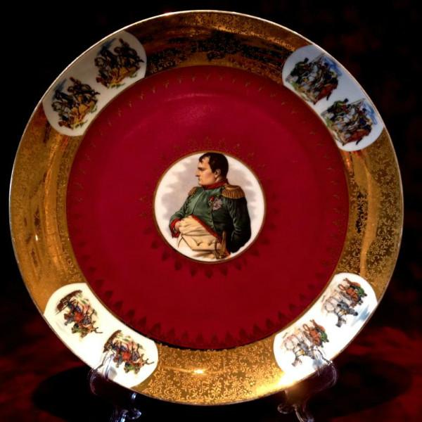 Декоративное Блюдо Тарелка Наполеон Фарфор Германия