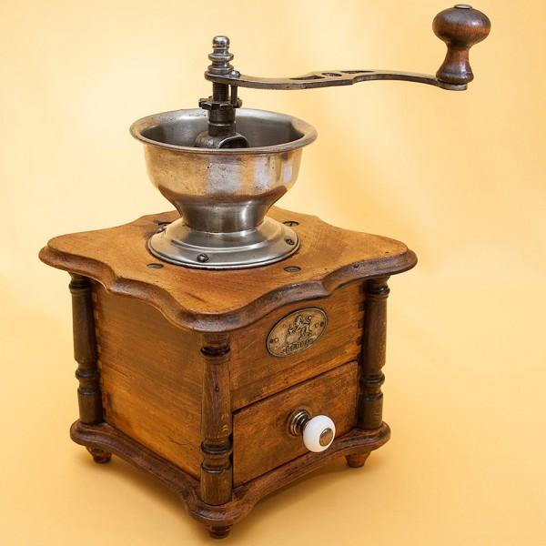 Винтажная Коллекционная ручная механическая кофемолка «Ereka», Франция, начало ХХвека.